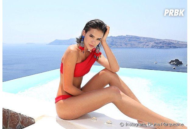 Bruna Marquezine exalta beleza e praticidade nos cabelos curtos