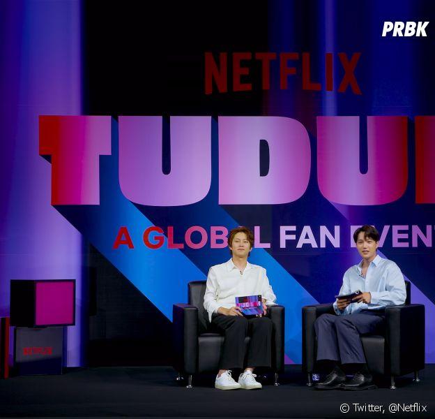 Kim Hee-chul do SUPER JUNIOR e Kai do EXO falaram sobre novas adições coreanas na Netflix