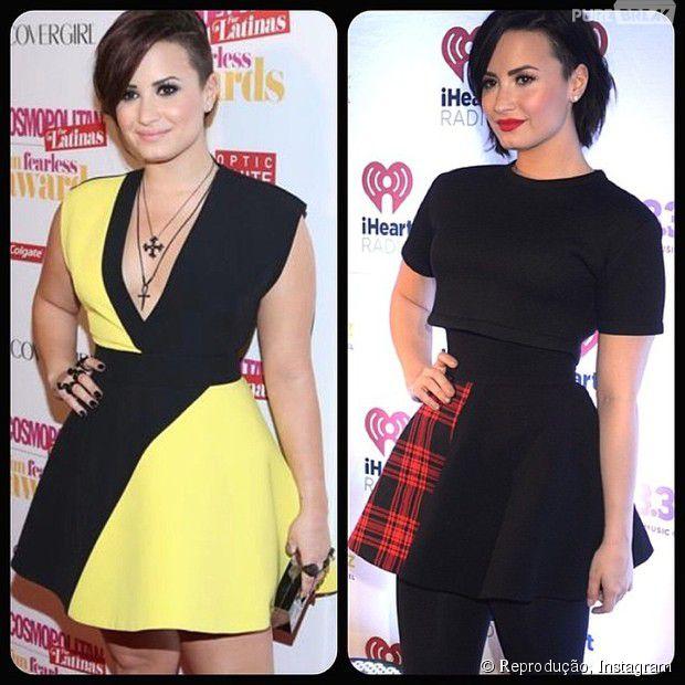 Demi Lovato comemora mudança de hábitos e corpo saudável após vencer episódios de disturbios alimentares