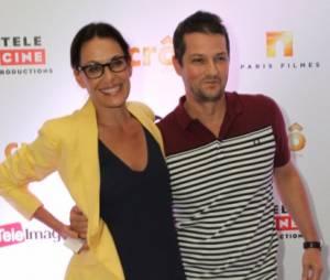 Muitos famosos prestigiaram o amigo Marcelo Serrado, que dá vida ao Crô, nos cinemas. Carolina Ferraz foi uma das artistas à prestigiar o amigo