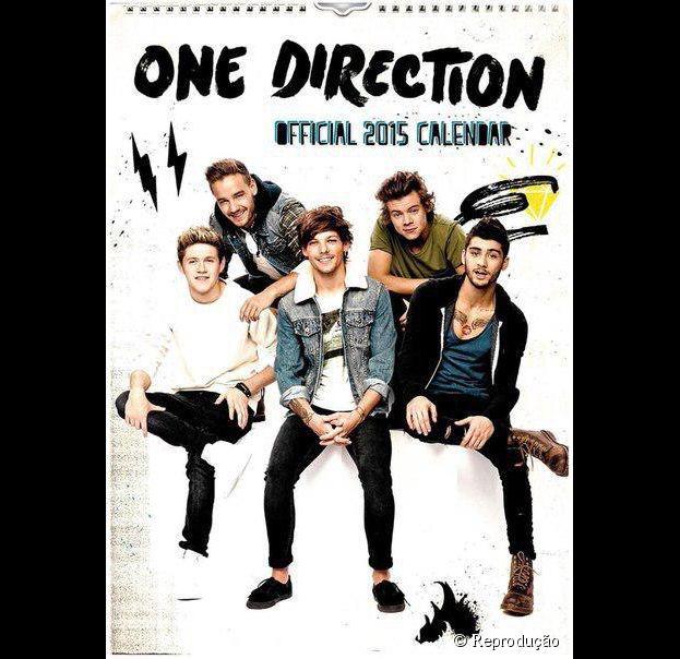 O calendário 2015 está recheado de fotos do One Direction. É ou não é para suspirar nos 12 meses do ano?