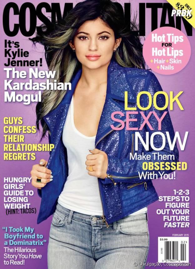 Kylie Jenner posa para a Cosmopolitan Magazine