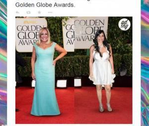 Susana Vieira e Gretchen não poderiam faltar no Globo de Ouro 2015, né?