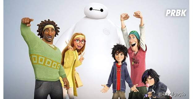 """""""Operação Big Hero"""" é uma das animações para se ver no cinema durante as férias."""