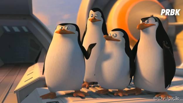"""""""Os Pinguins de Madagascar"""" é uma das animações para se ver no cinema durante as férias."""