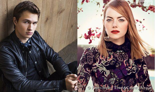 """Ansel Elgort e Emma Stone podem atuar em """"Baby Driver"""""""