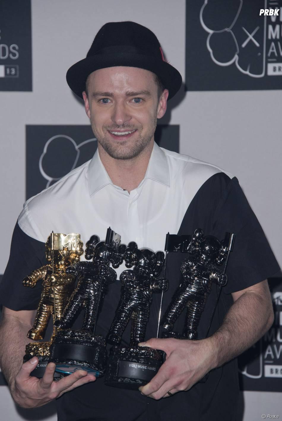 Justin Timberlake ganhou prêmios no MTV Video Music Awards, mas não levou nada no EMA