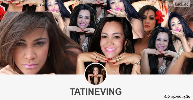"""Tumblr """"Tatineving"""" faz homenagem à nova amiga do Justin Bieber"""