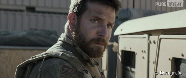 """Com Bradley Cooper, o londa """"Sniper Americano"""" é o mais assistido no final de semana"""