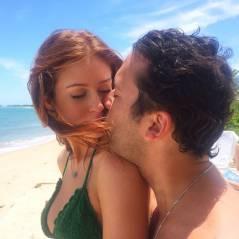 Marina Ruy Barbosa comemora o aniversário do namorado Caio Nabuco com muito beijo na boca