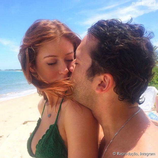 Marina Ruy Barbosa e Caio Nabuco: atriz dá feliz aniversário ao namorado no Instagram