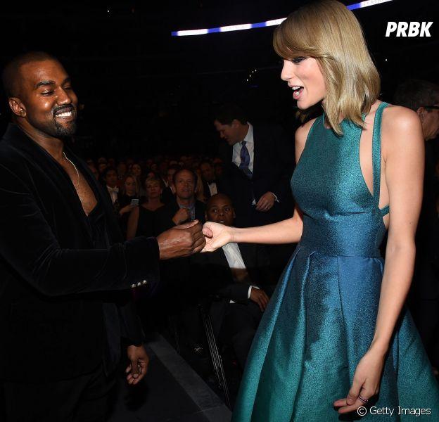 Taylor Swift e Kanye West fazem as pazes no Grammy 2015