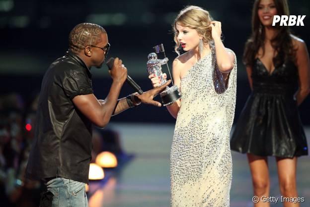 Taylor Swift e Kanye West no VMA 2009