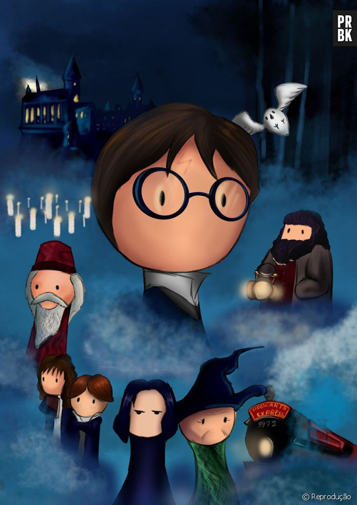 De Harry Potter A Operacao Big Hero Artista Recria Posters De