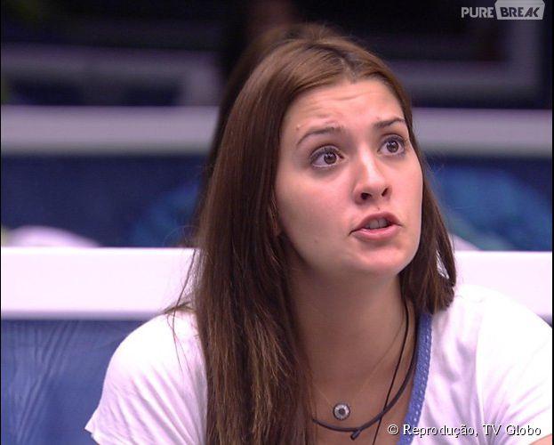 """No """"BBB15"""", Tamires é o novo Anjo do reality show da Globo"""