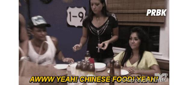 Culinária chinesa é deliciosa