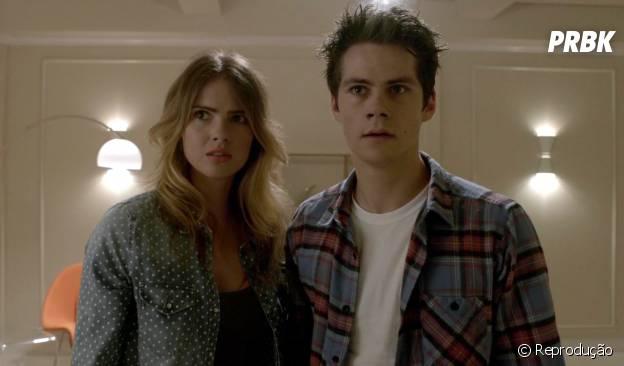 """Malia (Shelley Hennig) vive um romance super shippado com Stiles (Dylan O'Brien) em """"Teen Wolf"""""""