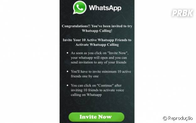 Cibercriminosos criaram forma maliciosa para espalhar vírus pelo Whatsapp