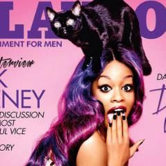 """Azealia Banks é capa da Playboy! Tá arrasando com um gatinho na cabeça e cara de """"OMG!"""""""