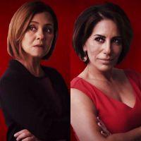 """Duelo """"Babilônia"""": Adriana Esteves ou Glória Pires? Quem vai ser a maior vilã da novela?"""