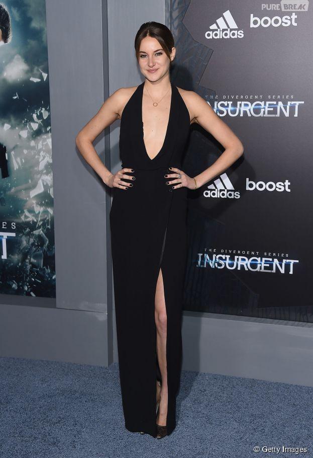 """Shailene Woodley rouba todos os holofotes na première de """"Insurgente"""""""