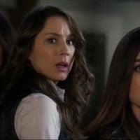 """Em """"Pretty Little Liars"""": Aria (Lucy Hale), Spencer e Emily também são presas!"""