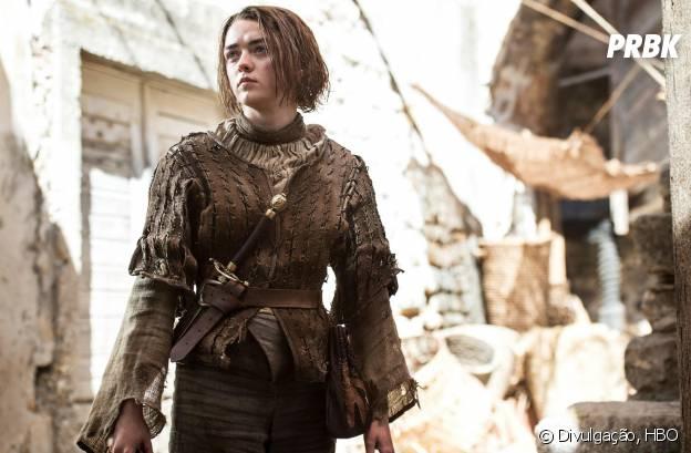 """O fim de """"Game of Thrones"""" pode estar mais próximo até do que a Arya (Maisie Williams) imagina!"""