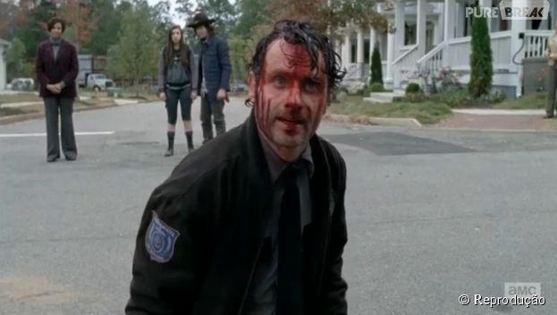 """Em """"The Walking Dead"""", Rick (Andrew Lincoln) pode ser expulso de Alexandria!"""