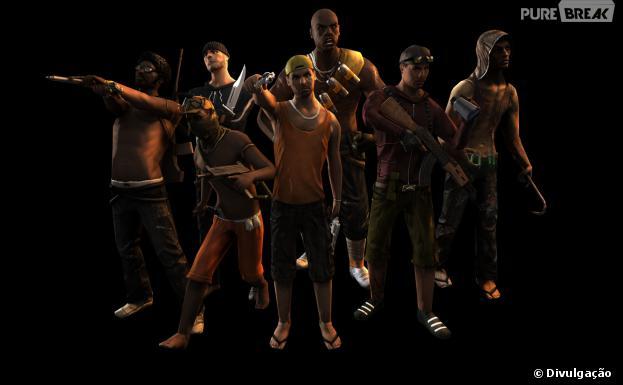 Favela Wars é um jogo de estratégia nas favelas do Rio