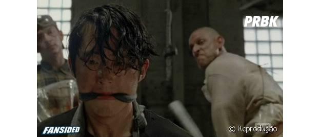 Glenn quase morre!