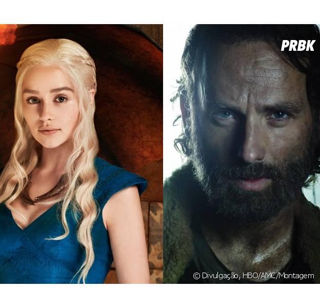 """Você já se apegou aos personagens de """"Game of Thrones"""" e """"The Walking Dead""""?"""