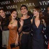 Giovanna Lancellotti, Sabrina Sato, Maria Casadevall e mais famosas se encontram em evento de moda