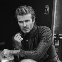 David Beckham encarna motoqueiro malvado para campanha de grife