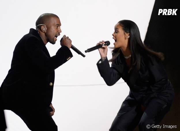 """Kanye West é um dos produtores do """"R8"""", novo CD da Rihanna"""