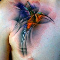 Veja 40 tatuagens incríveis em aquarela, técnica cada vez mais popular no Brasil!