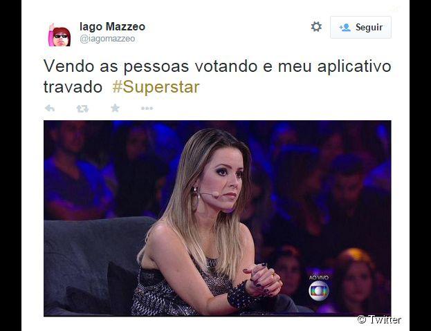 """Sandy é a nova jurada do """"SuperStar"""", da Globo e não escapou das críticas ao aplicativo"""