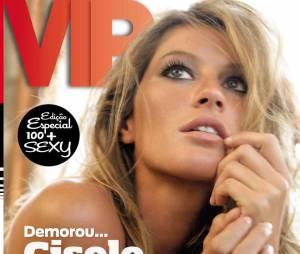 Gisele Bündchen já foi considerada a mulher mais sexy do mundo pela revista Vip