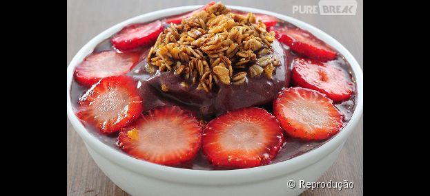 Confira diferentes combinações de Nutella com algo inusitado, como açaí e a pasta de avelã