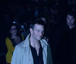 O marido de Gisele Bündchen, Tom Brady, acompanhou a despedida da über model diretamente da primeira fila