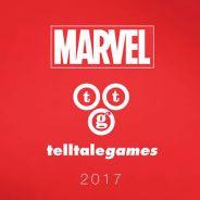 Marvel e Telltale Games se unem para produzir um novo título inspirado nos universo dos quadrinhos