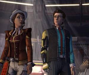 """Fiona e Rys, os protagonistas de """"Tales From The Borderlands"""": spin-off do jogo de tiro produzido pela Telltale"""