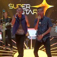 """No """"SuperStar"""": Lucas e Orelha, Scambo, de Salvador, e Devir, do Rio de Janeiro, arrasam no palco!"""