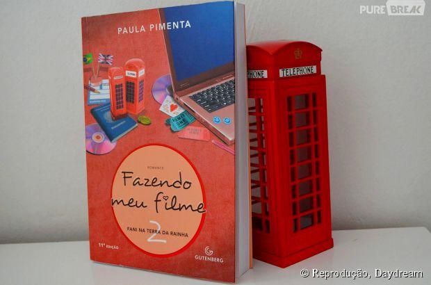"""No livro """"Fazendo meu Filme 2"""", a protagonista Fani vai para a Inglaterra!"""