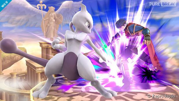 """Super Smash Bros."" conta com Mewtwo no time de lutadores via DLC"