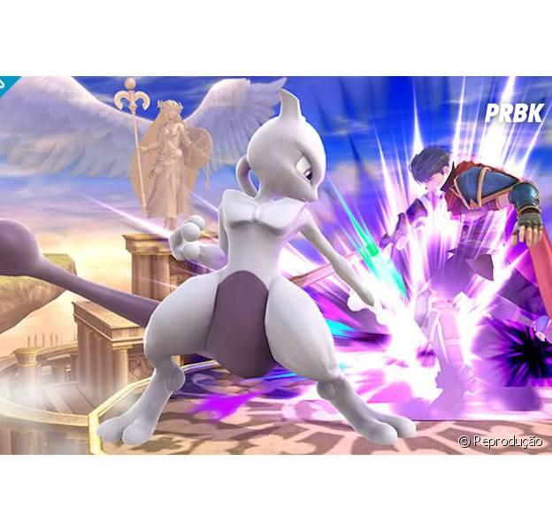 """""""Super Smash Bros."""" conta com Mewtwo no time de lutadores via DLC"""