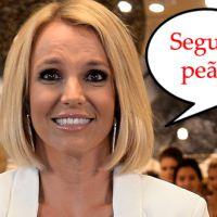 """Britney Spears cai e machuca o tornozelo durante show da """"Piece of Me Tour"""" em Las Vegas"""