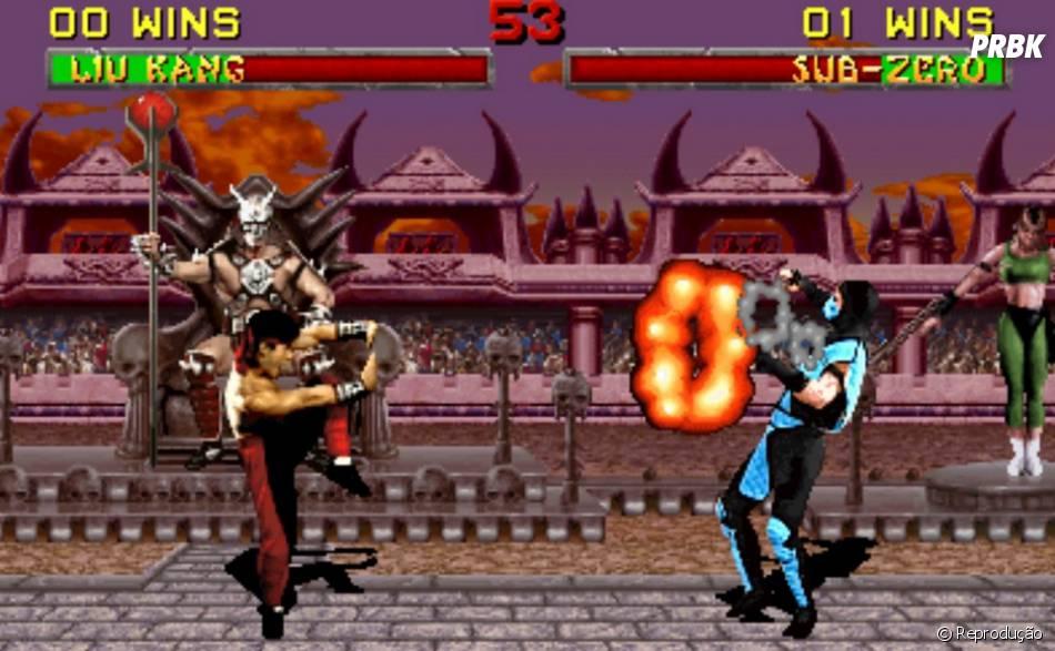 """Jogar """"Mortal Kombat"""" e sempre escolher o Sub-Zero. Até hoje!"""