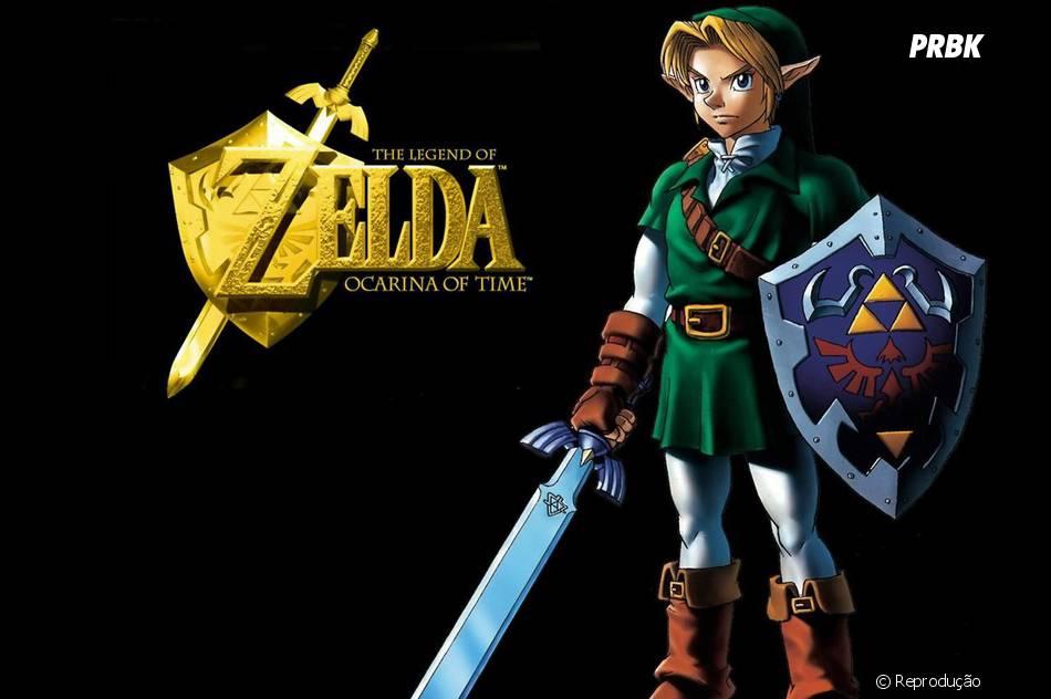 """""""Legends of Zelda"""" também é um game clássico que até hoje faz sucesso!"""