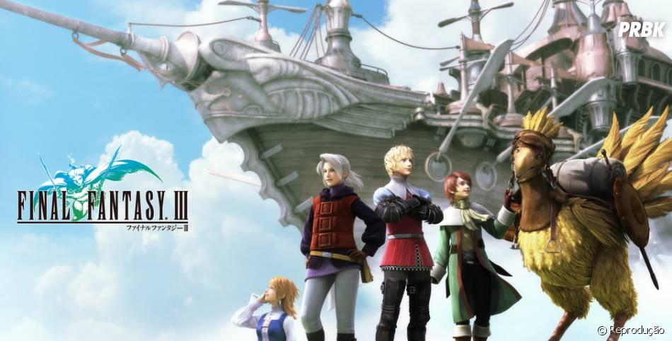 """Jogar """"Final Fantasy"""" todo mundo jogou. Mas encontrar alguém que zerou é mais difícil!"""