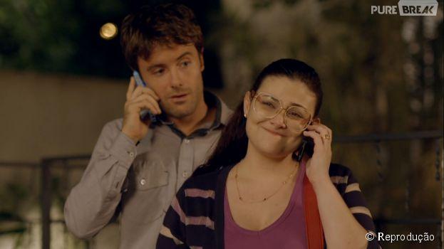 "Em ""Alto Astral"", Israel (Kayky Brito) vai engordar 20kg para ficar com Bia (Raquel Fabbri)!"